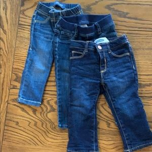 Other - Three pairs of baby jeans